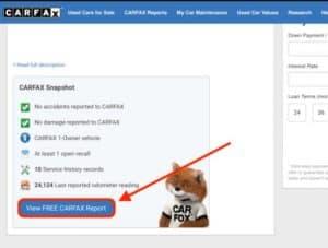 free at carfax.com
